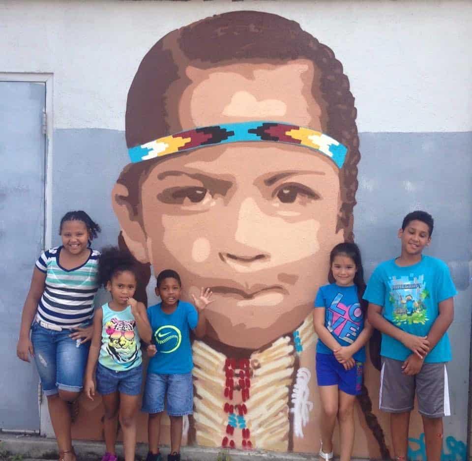 Youth Mural Visit