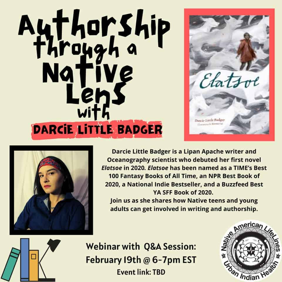 Authorship through a Native Lens with Darcie Little Badger