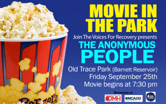 Join the Voice for Recovery: MOVIE in the PARK