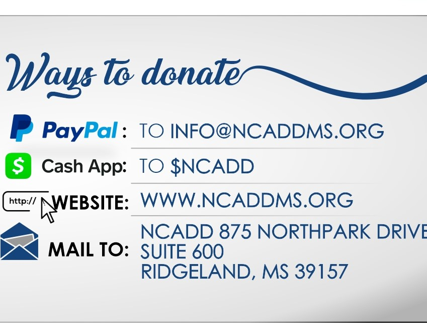 Ways to Donate to NCADD