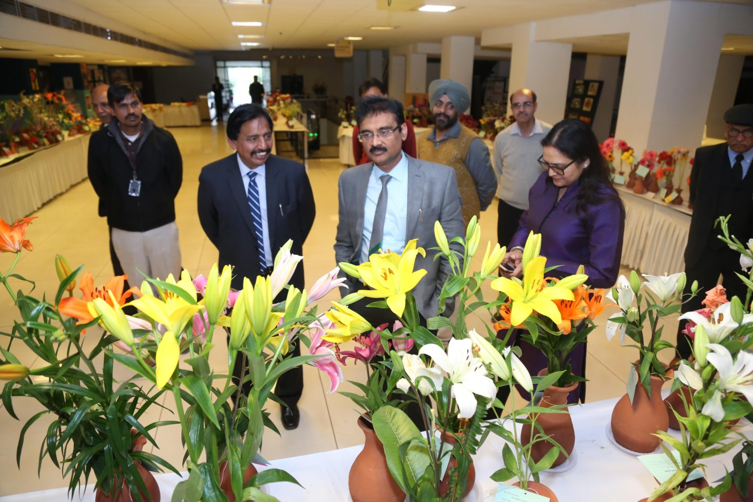 LPU Agriculture Department organized Spring Flower Show