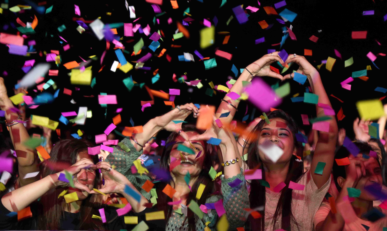 LPU Students' Organization 'Altiora' organized 'E-DM Evening' with two world renowned DJs