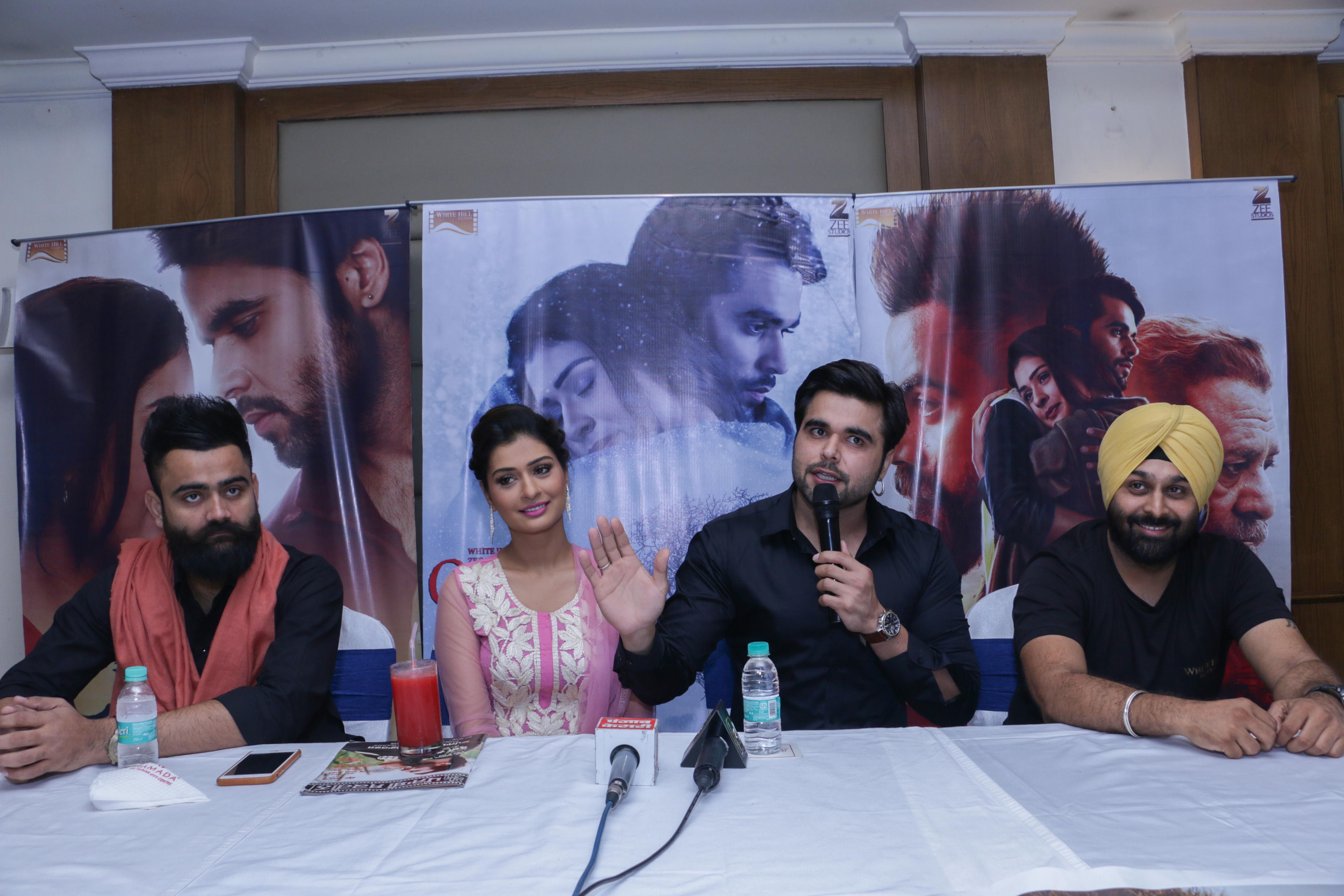 Film 'Channa Mereya' to hit the Screens on 14th July  The star cast of the upcoming Punjabi film was in Jalandhar for Promotion