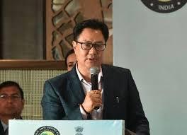 Kiren Rijiju attends Khelo India Winter Games in Ladakh