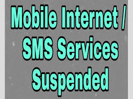 Haryana Government  extended  suspension of telecom services