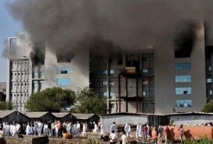 Fire at India's Serum Institute kills 5, AstraZeneca vaccine output unaffected