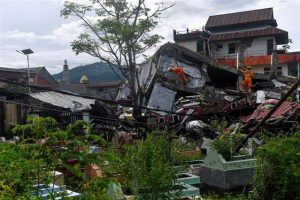 Quake death toll at 78 as Indonesia struggles with string of disasters