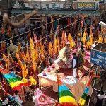 श्री श्याम मंदिर कमेटी द्वारा सातवीं विशाल पदयात्रा महेंद्रगढ़ से खाटूधाम के लिए रवाना