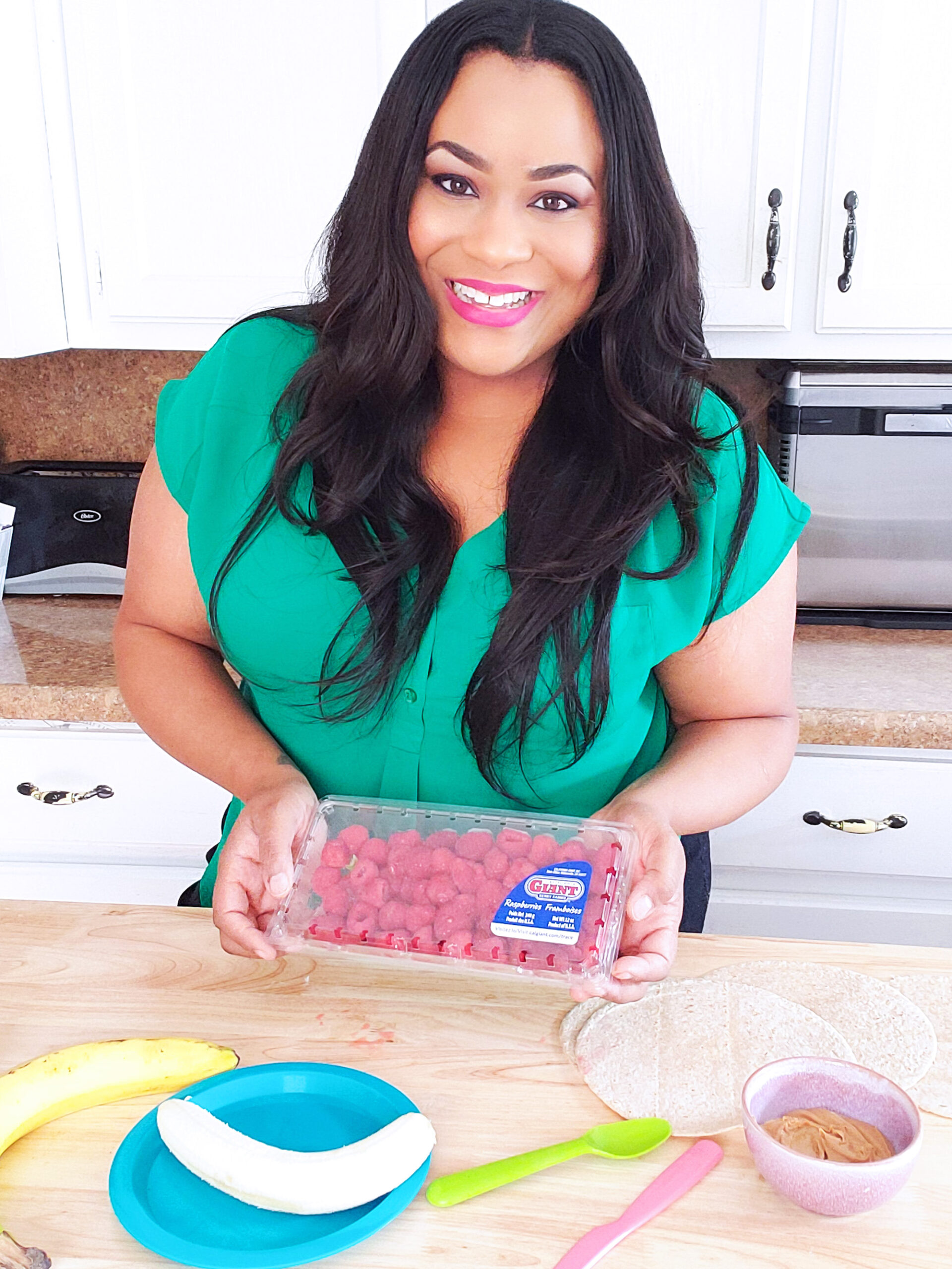 African American Registered Dietitian Nutritionist. Try this delicious, stacked Raspberry, Banana, & Peanut Butter Quesadilla instead! It's the perfect after-school snack or lunch. beautifuleatsandthings.com