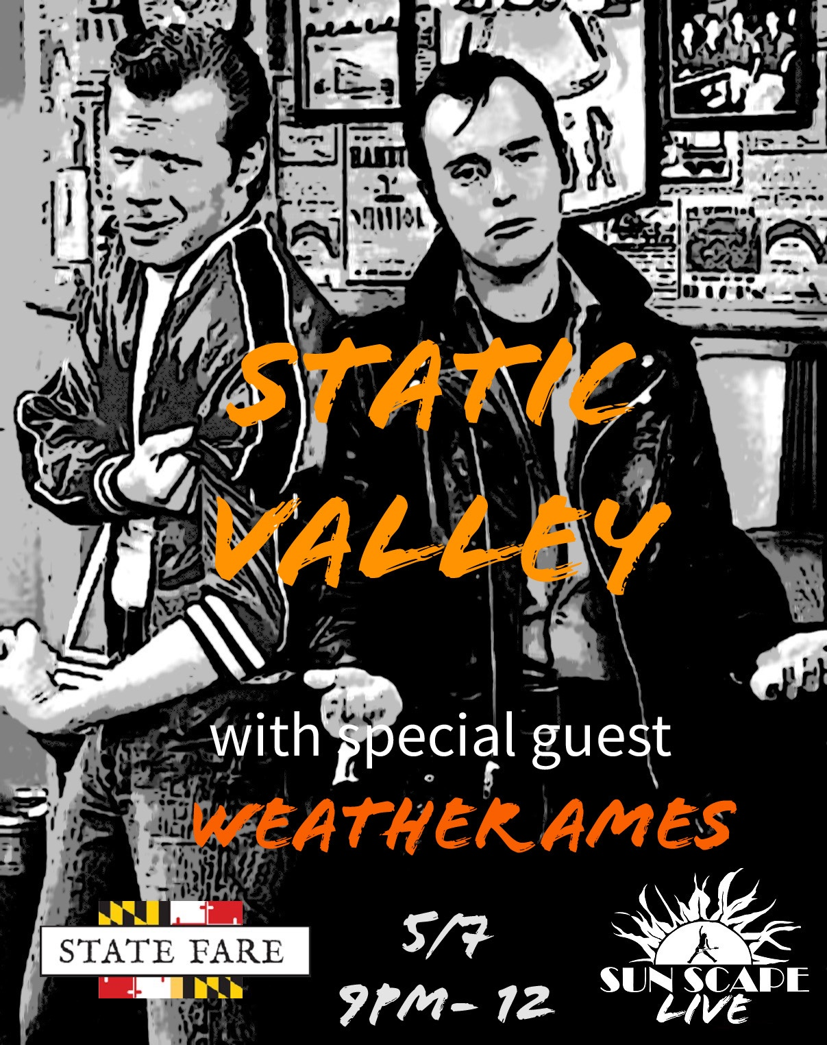 Static Valley with Weather Ames