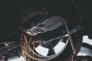 Car leaking transmission fluid in West Chicago, Illinois