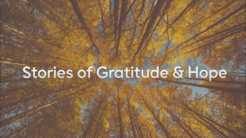 Thanksgiving Sunday: Stories of Gratitude & Hope Image