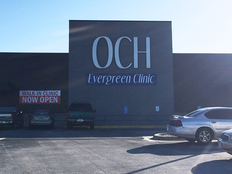 och evergreen pain clinic