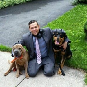 Attorney Matt Albert is passionate about defending the rights of dog owners whose dogs were killed by police.