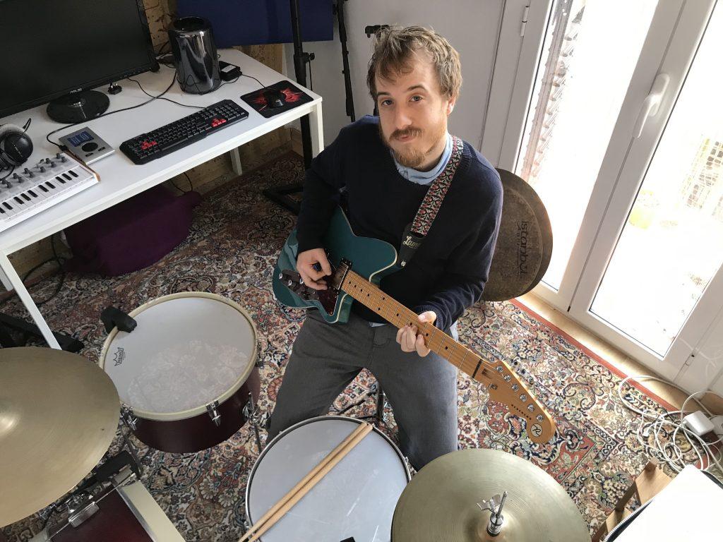 Ben Heckler with Guitar and Drums
