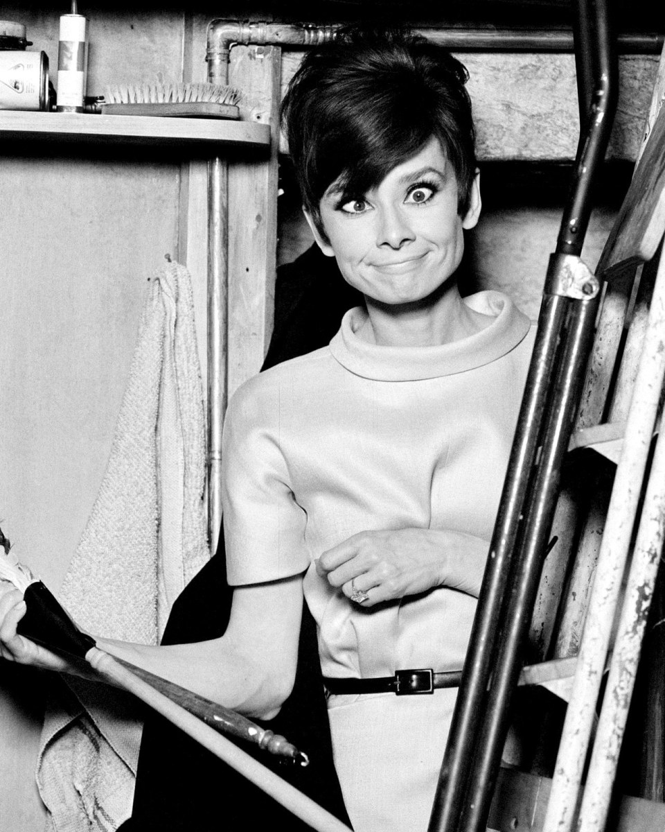 How to steel a million behind the scenes with Audrey Hepburn