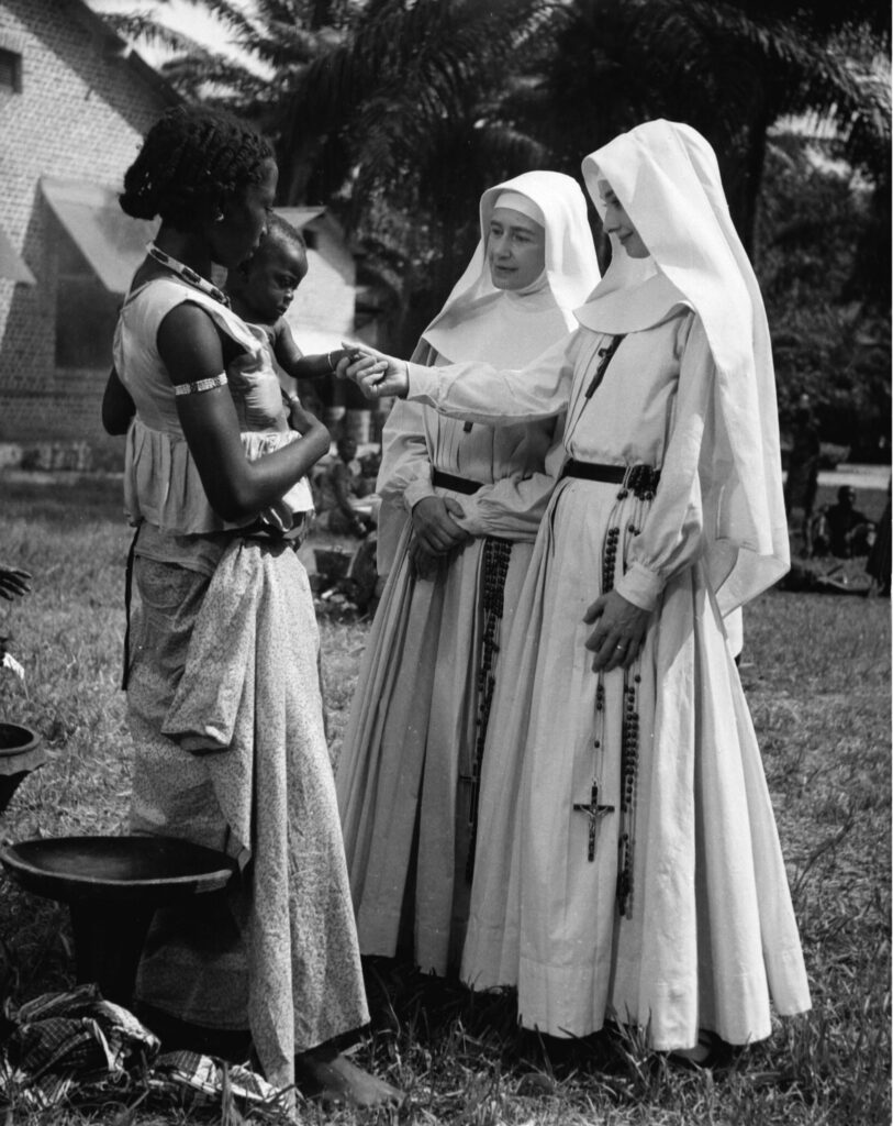 Behind the scenes of The Nun's Story with Audrey Hepburn