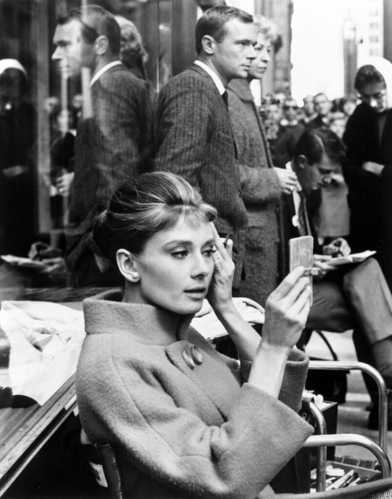 Audrey Hepburn Behind the Scenes of 'Breakfast at Tiffany's'