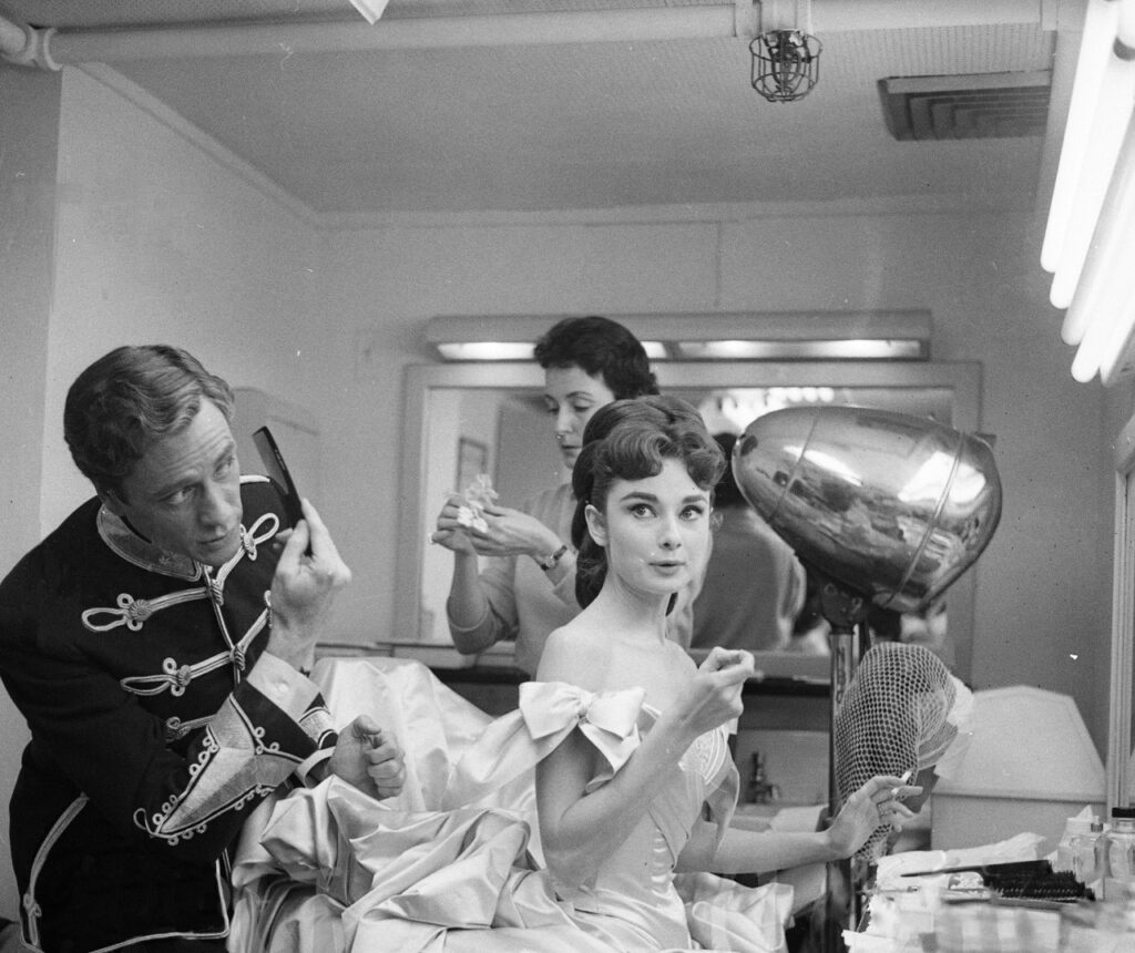 'War and Peace' Audrey Hepburn