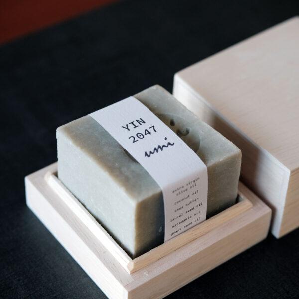 UMI Canadian Glacial Clay Cube Soap - YIN 2047
