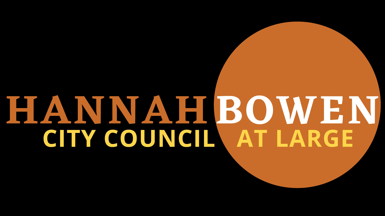 Logo: Hannah Bowen City Council At Large
