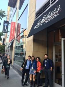 at the famous Lou Malnati's Pizzeria