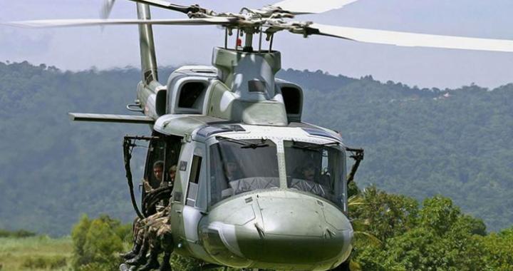 Pagará Defensa $1.8 millones por reparar helicóptero oxidado.