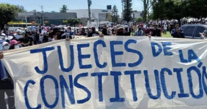 «Ya se tomaron la Asamblea…ahora van contra el Órgano Judicial»: Jueces salen a la calle para exigir independencia y revertir reformas a la carrera