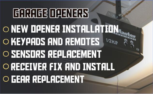 Holt's Reliable Garage Door Openers