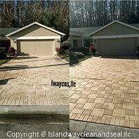 Driveway Pavers - Before and After