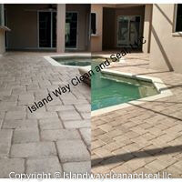 Pool Pavers - Before and After Example