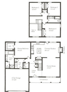 Fairway Meadows - The St. Andrews Colonial Floor Plans