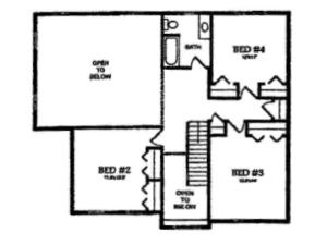 The Homestead 2nd Floor Plans