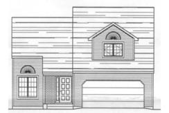 Pointe West Townhomes Three Bedroom Floor Plan