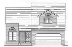 Pointe West Townhomes Three Bedroom Floor Plan