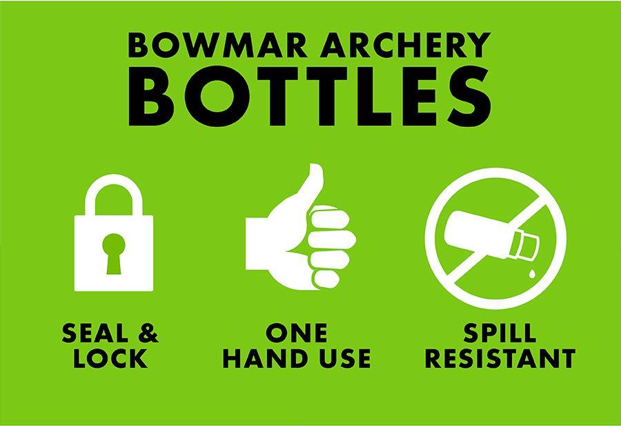 Bowmar Archery Bottles