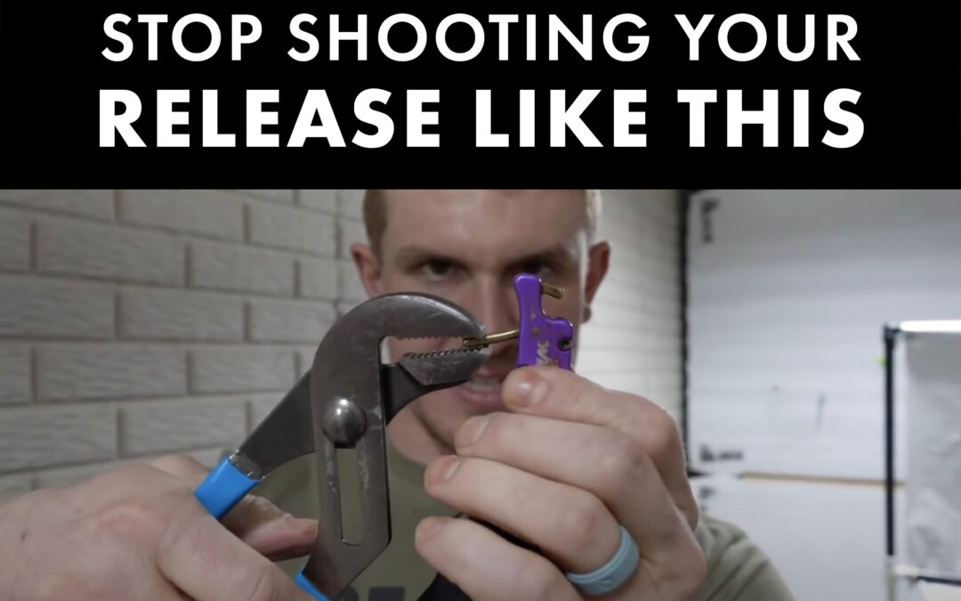 Josh Bowmar Shows you how to NOT Shoot your Release