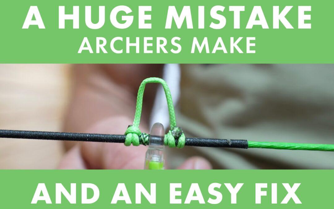 Josh Bowmar Reveals a HUGE Mistake Archers Make + How to Fix It