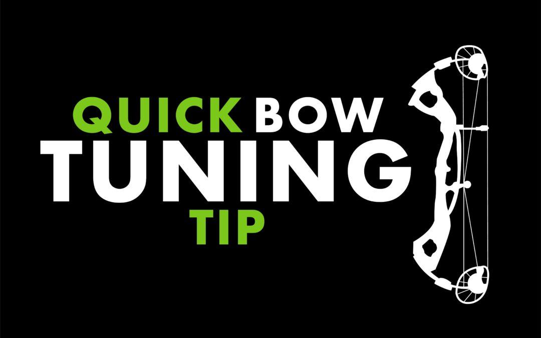 Josh Bowmar's Quick Bow Tuning Tip