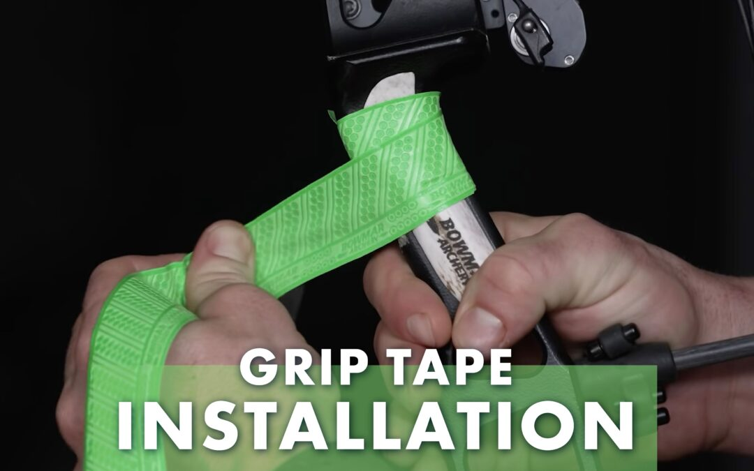 How to Install Bowmar Archery Grip Tape