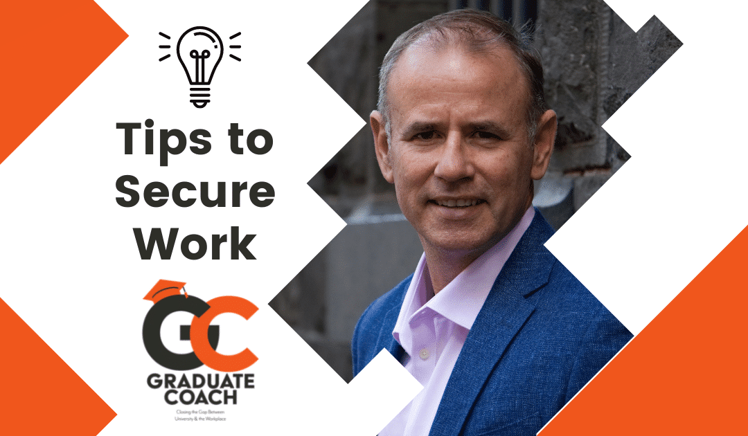 Tips to Secure work & Change Career