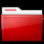 Red Ubuntu Folder