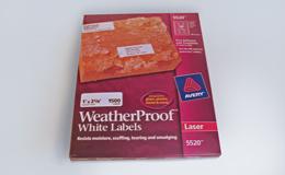 WeatherProofLabels