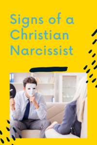 signs of a christian narcissist
