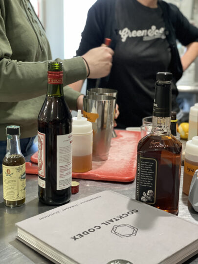 Cocktail creation with Aimee Bouchard