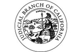 Judicial Branch of California badge