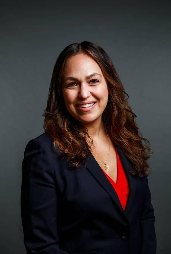 Tina M. Glezako smiling