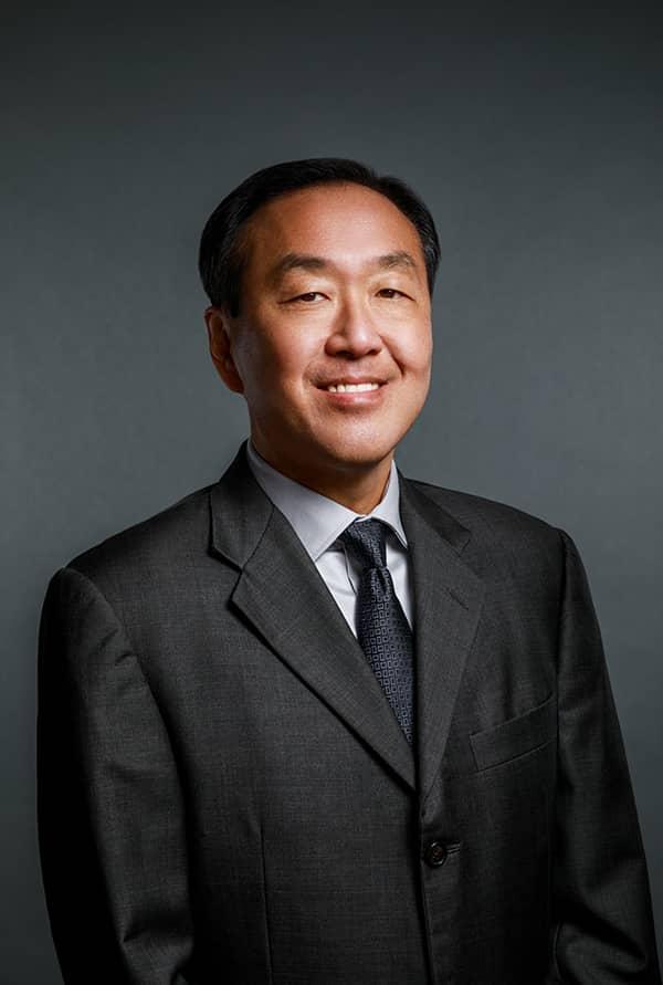Charles S. Park smiling