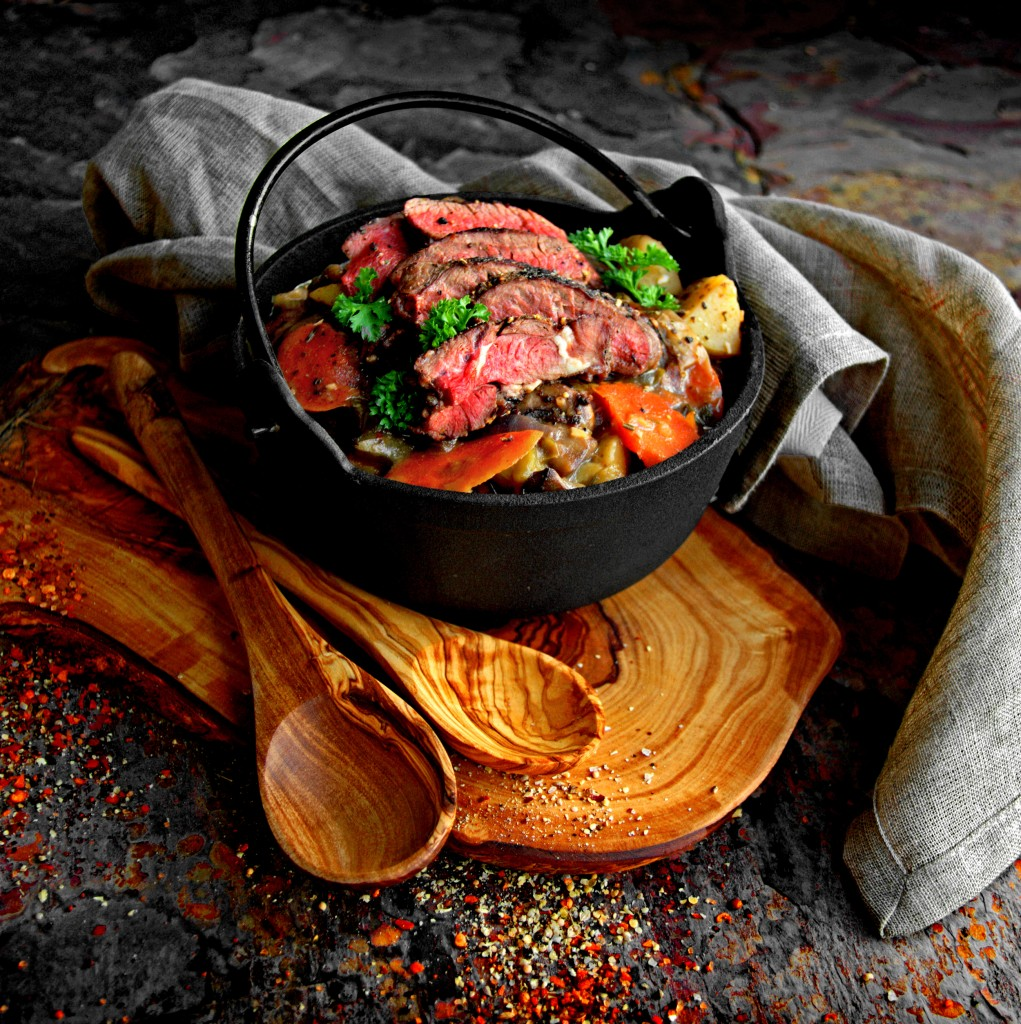 Emerald Isle's Red Venison Irish Stew