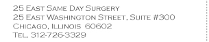 Downtown Surgery Center Address